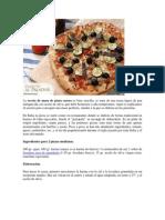 Receta de Masa Para Pizza