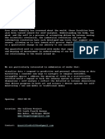 Quantified Self Show 02 Flyer