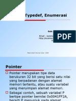 Materi 6 - Pointer