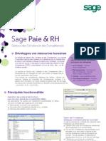SagePaie RH Gestion Des Carrieres Et Des Competences