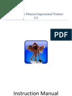 Self Bondage Fitness Unpersonal Trainer 1.3 Instructions Manual