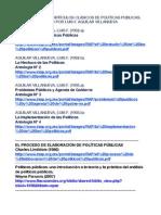 ALGUNOS LIBROS DE POLÍTICAS PUBLICAS