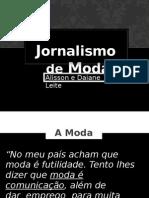 JORNALISMO DE MODA