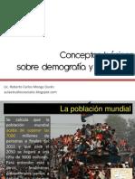 Aspectos básicos sobre la población mundial