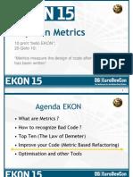 Audits & Metrics Ekon 15 3