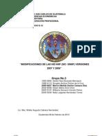 T 08 Modificaciones de Las Nic-Nif (SIC- SINIF ) Versiones 2007 y 2009