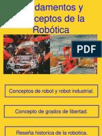 1 Fundamentos y Conceptos de La Robotica