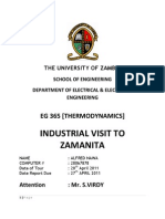 Zamanita Industrial Tour