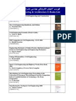 69- Civil Engineering & Architecture E-Books List