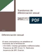 transtornos de diferenciación sexual