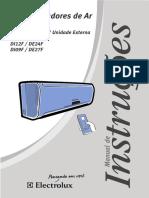 Manual Condicionador de Ar Split