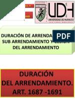 CODIGO CIVIL PERUANO. SOBRE ARRIENDO