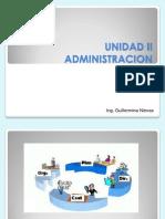UNIDAD II - La Admin is Trac Ion Control