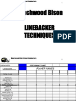 Beachwood Linebackers