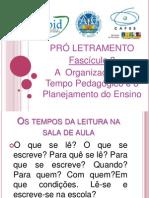 Slides Pro letramento- Fascículo III