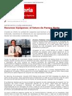 Recursos hipógenos_ el futuro de Pampa Norte