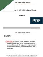 5 - Administração de Redes - SAMBA