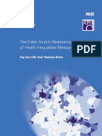 The Public Health Observatory