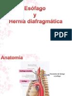 Esófago y Hernia diafragmática!