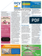 Pharmacy Daily for Mon 04 Jun 2012 - Ex-manufacturer pricing, New AACP Chair, Free drug advert concern  and much more...
