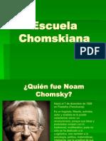 Escuela Chomskiana