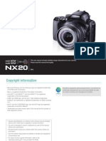 Samsung Camera NX20 English User Manual
