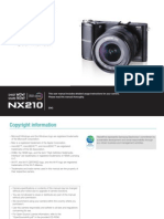 Samsung Camera NX210 English User Manual