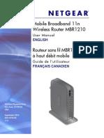 Bell 4G NETGEAR MBR1210 Turbo Hub User Guide