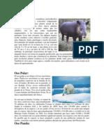Animales en Peligro de Extincion y Reservas Ecologic As de Honduras