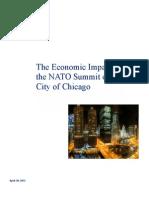 NATO Chicago Economic Impact