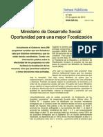 TP-980-Ministerio de Desarrollo Social ad Para Una Mejor Focalizacion-27!08!2010
