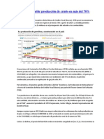 YPFB prevé subir producción de crudo en más del 70