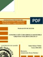 Construcción y Desarrollo Sostenible (Arquitectura Bioclimática)