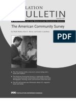 60.3The American Community
