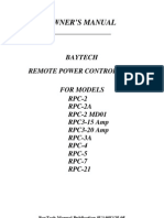 BayTech RPC3 Manual