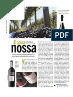 20110828 Revista O Globo Vinhos