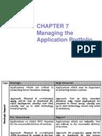 Chapter Application Portfolio