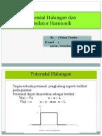 Potensial Halangan & Osilator Harmonik