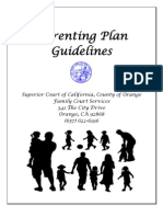 Guide for Parenting Plan