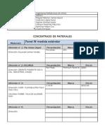 Concentrado de Materiales (IPSA)
