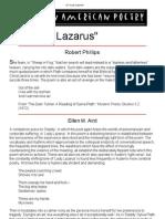 On Lady Lazarus