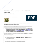 Beneficios Del Extracto de Alcachofa en La Dieta