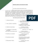 Características Clave de las Escuelas efectivas