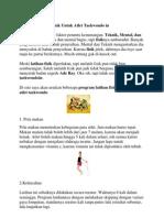Program Latihan Fisik Untuk Atlet Taekwondo In