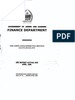J&K Civil Services Leave Rules 1979