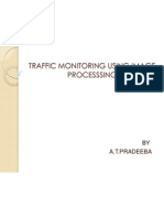 Traffic Monitoring Using Image Process Sing