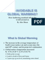 Presentation Global Warming Final Draft
