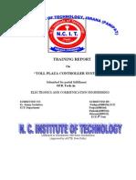 Major Project on Toll Plaza Controller Syatem 2012_onverted