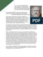 Biografía de Platón