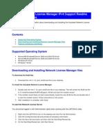 Utodesk Network License Manager IPv4 Support Readme for 64